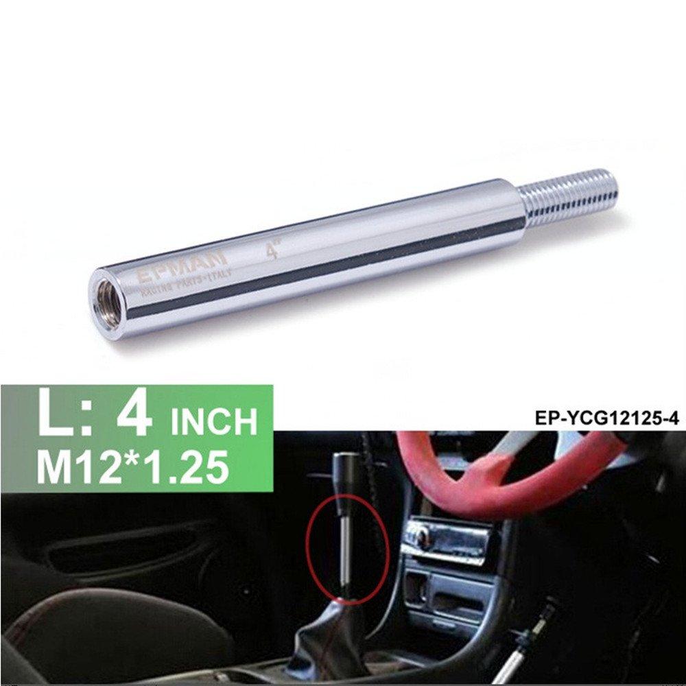 Epman EP-YCG12125-4 4inch M12x1.25 Lighter Aluminum Shifter Extension Shifter Extender YiPin