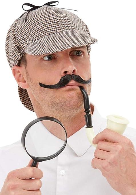 Sherlock Holmes - Disfraz de detective victoriano para hombre ...
