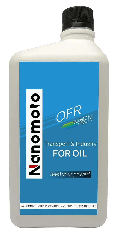 nanomoto OFR boostengreen 1L - Aditivo Nanotecnologico Aceite Motor 1L: Amazon.es: Coche y moto