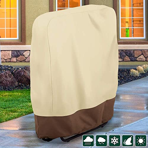 willstar Zero Gravity Folding Chair Cover Waterproof Dustproof UV Resistant Outdoor Folding Chairs Cover 37×32 2PCS