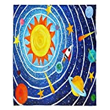 DiaNoche Fleece Blankets Soft Fuzzy 4 SIZES! by nJoyArt - Solar System VII - Toddler 40'' x 30''