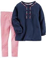 Carter's Toddler Girl's Tunic Top & Leggings Set