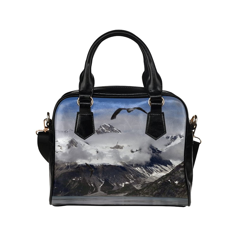 Artsadd Alaska Mountains Landscape Women Shoulder Tote Handbag Bag