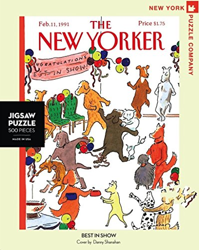 (New York Puzzle Company - New Yorker Best in Show - 500 Piece Jigsaw Puzzle)