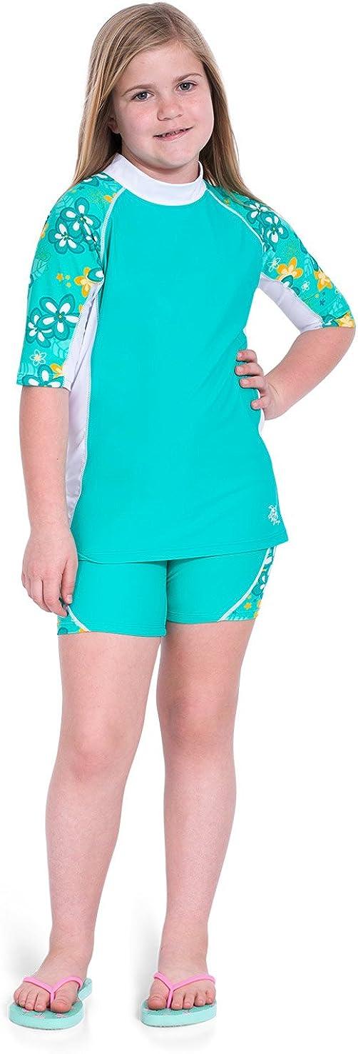 Tuga Kids Custom//Personalized Short Sleeve Rash Guard UPF 50 Sun Protection