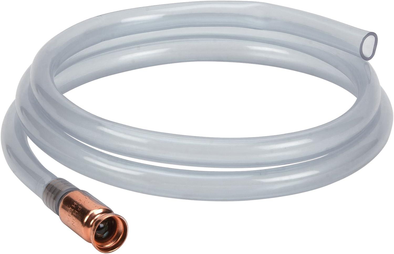 Gas Siphon Hose Pump,Shaker Siphon for Gasoline//Fuel//Water Transfer,Safety Self Priming Hose 3//4 Valve 2 Pack