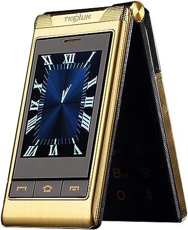 Doble pantalla doble desbloqueada GSM teléfono celular viejo ...
