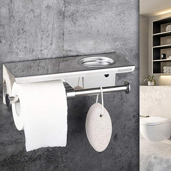 Amazon.com: Ashaon - Portarrollos de papel higiénico con ...