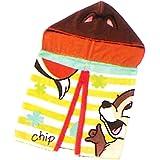 ディズニー フード付き タオル フードタオル チップ & デール (リバーシブルで着られる) ( ディズニーリゾート限定 ディズニー )