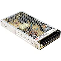 Meanwell schakelvoeding, gesloten structuur, 1 uitgang, VIN = 180-264 VAC, VDC = 240-370 V, 24 V, 211 W