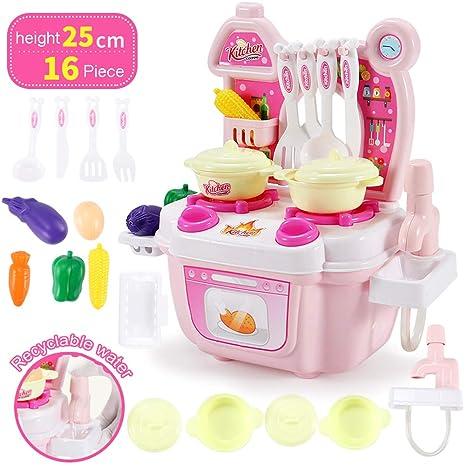 Cucina per bambini finta giocare giocattoli cucina posate tavolo ...