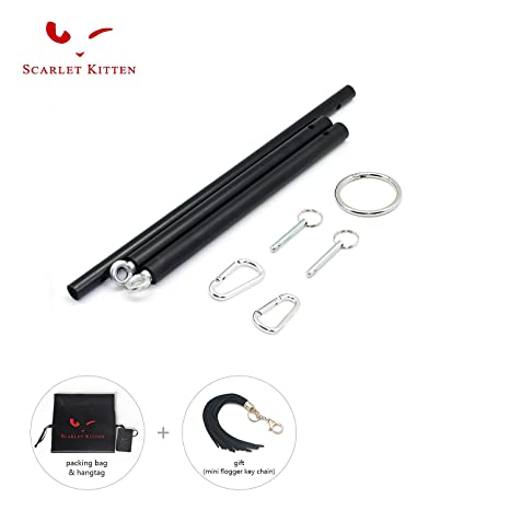 Amazon.com  SCARLET KITTEN Adjustable Stainless Steel Spreader Bar ...