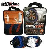 atliprime 2pcs Anti-Skid Safety Ice Mud Tires