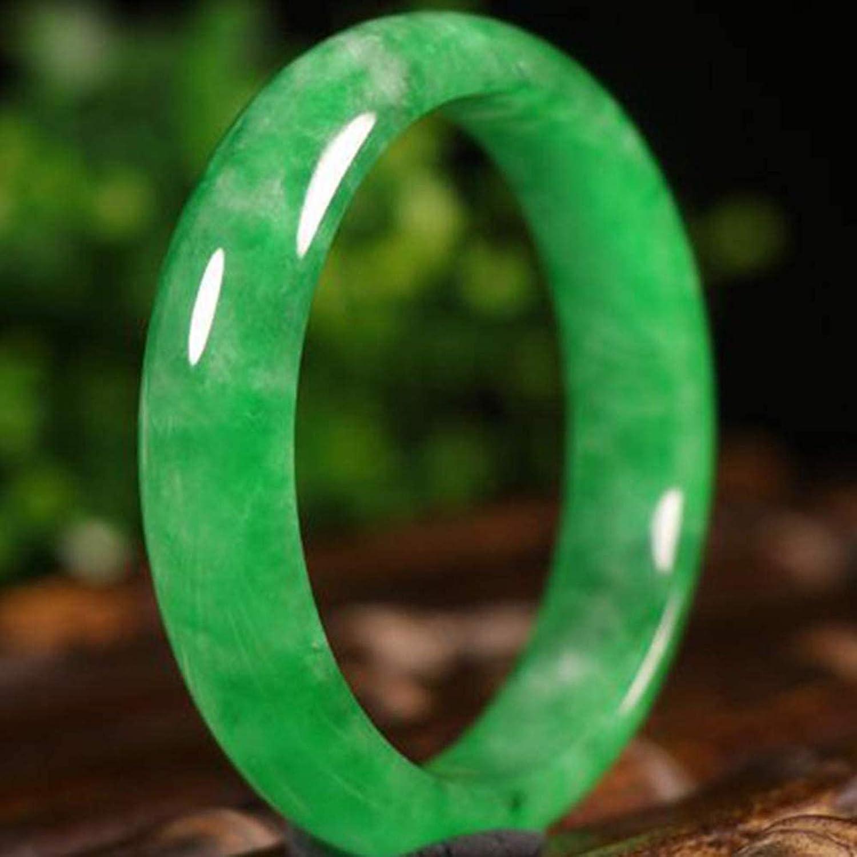 AMQ Piedras Preciosas Naturales puras Pulsera de Jade Hetian auténtica Jaspe Pulsera de Jade de Jade Natural joyería de Mujer