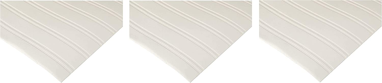 Graham /& Brown Paintable Prepasted Beadboard Stripes Texture Wallpaper 1, Fоur Paсk White