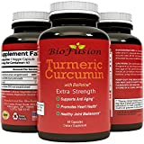 Cheap Turmeric Curcumin & Bioperine Black Pepper Extract capsules – 95% Curcuminoids with Iron + Copper – Anti Aging Formula Supplement – Joint Relief – Immune & Collagen Support by Biofusion