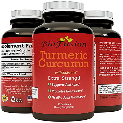 Turmeric Curcumin Bioperine Extract capsules