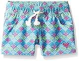 Roxy Big Girls' Island Tiles Boardshort, Ethereal Blue, 16