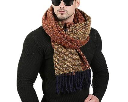 sconto più tardi selezione migliore fdgrh - Sciarpa da Uomo con Design alla Moda, 70 x 200 cm, Uomo ...