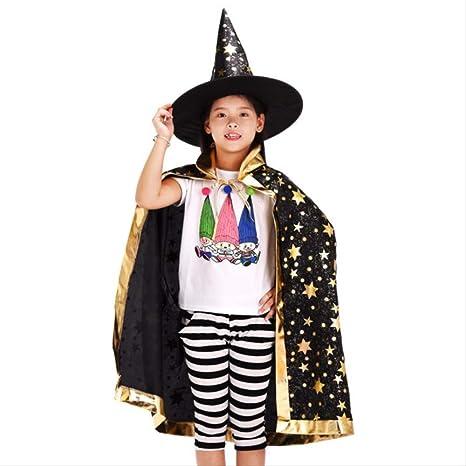 OPNEG petsuppliesmisc Niños Flash Star Disfraz Halloween Capa con ...