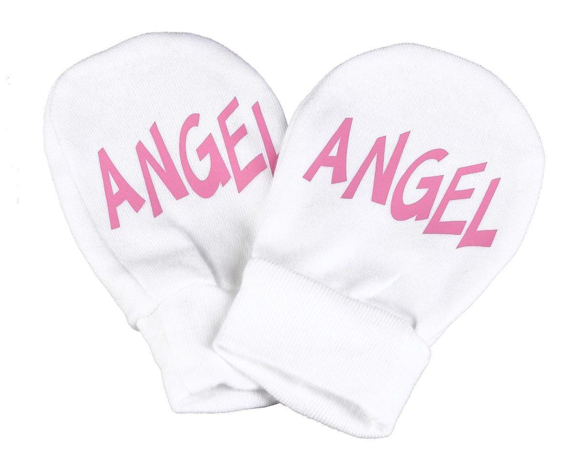 Spoilt Rotten Angel 100/% Organic Cotton Scratch Mittens