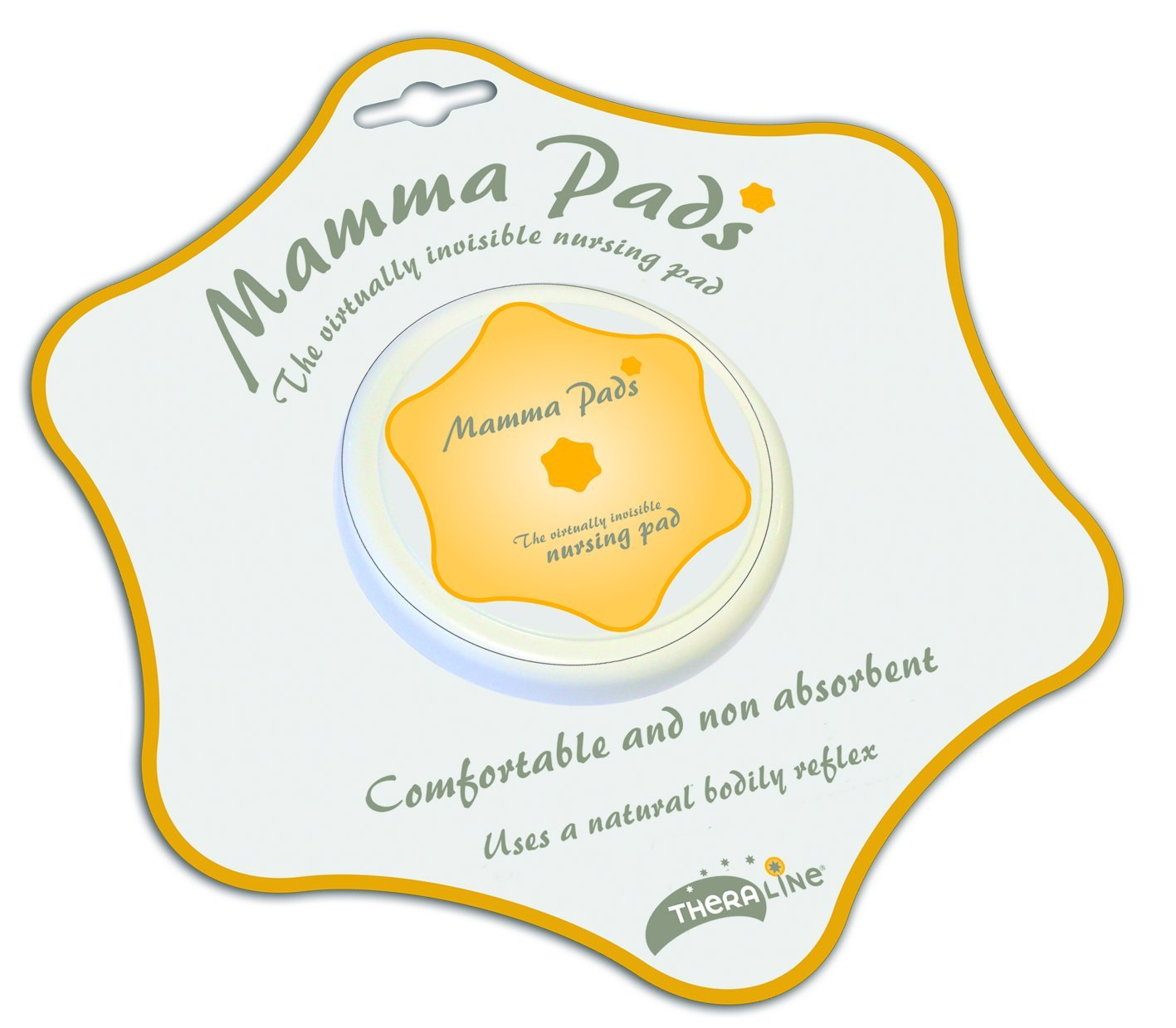 Theraline 81000000 - Mamma Pads, pezoneras de silicona (color blanco): Amazon.es: Bebé