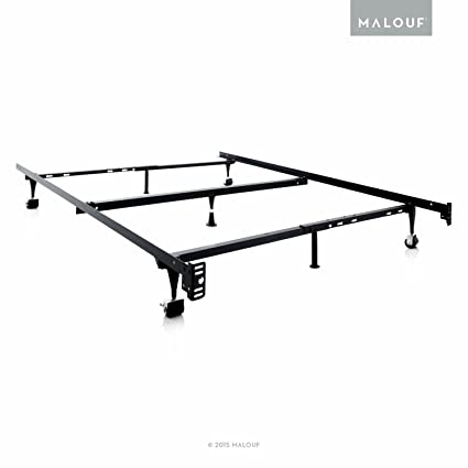 Amazon.com: STRUCTURES by Malouf Heavy Duty Adjustable Metal Bed ...