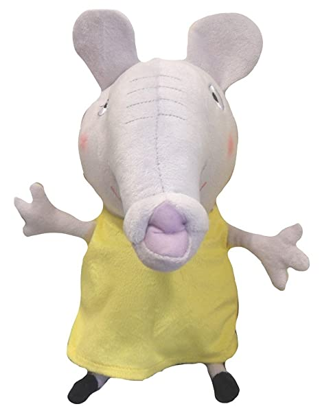 Amazon Com Peppa Pig Emily Elephant From Plush Soft Toy Toys Games