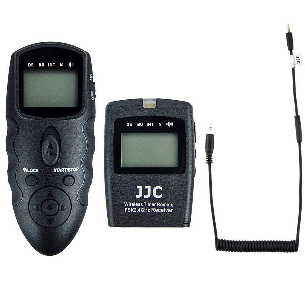 Wireless Wired Camera Shutter Release Timer Remote Control for Fujifilm X-T30 GFX 50S GFX 50R X-T3 X-H1 X-Pro2 X-T2 X-T1 X-T20 X-T10 X-T100 X-E3 X-E2S X-A5 X-A10 X100F X100T XF10 Replace Fuji RR-100