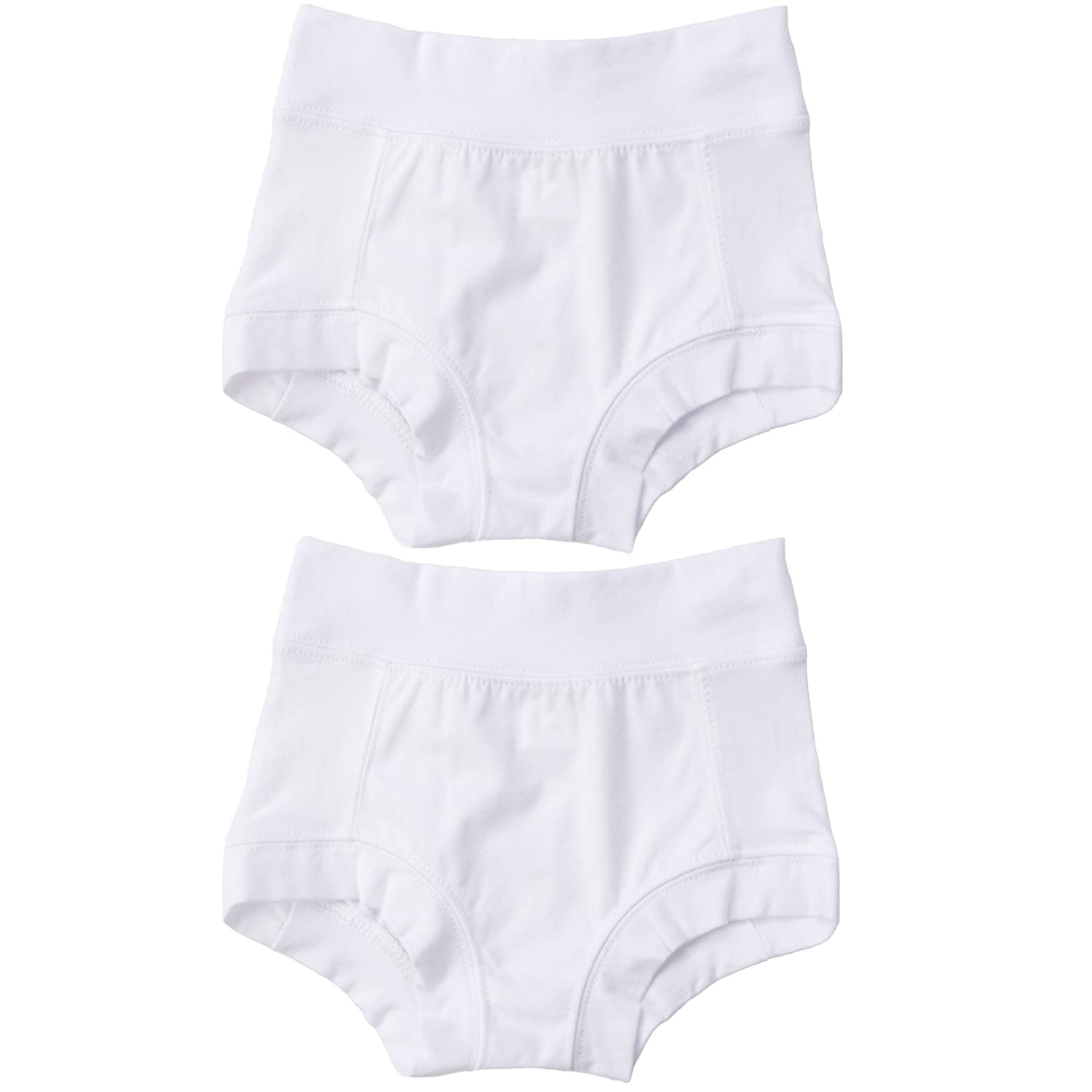 Oops! Undies Cloth Potty Training Pants Waterproof Bamboo Underwear White 2 Pack (2-3 years fits 15 waist) Tree Hugger Brands Inc.