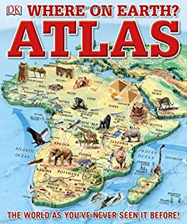 Childrens illustrated atlas dk 9781465435552 amazon books where on earth atlas sciox Image collections