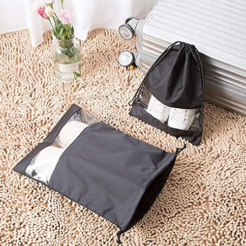 shuaishuang573 Zapatos /útiles port/átiles Bolsa de Viaje Bolsa de Almacenamiento con cord/ón Bolsas para Polvo de poli/éster