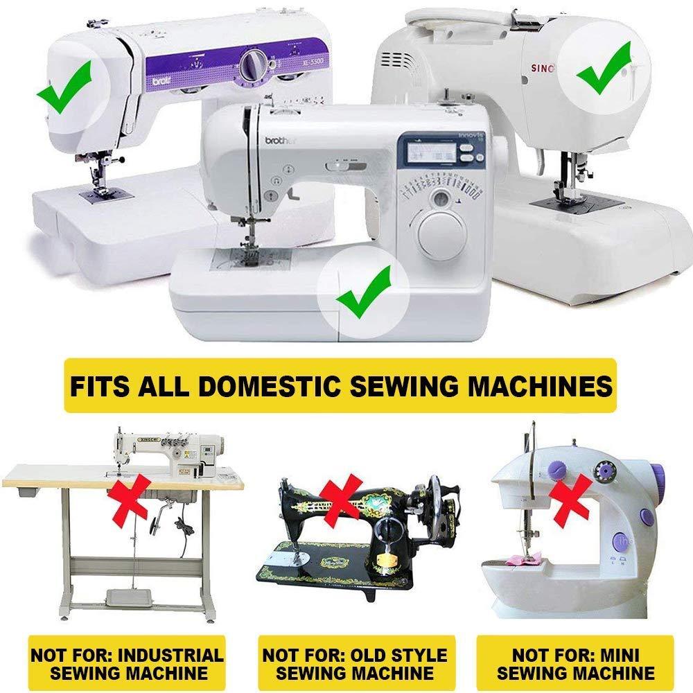 honeysew prensatelas SA107 Walking pie bajo filo para máquina de coser Brother Cantante Juki: Amazon.es: Juguetes y juegos