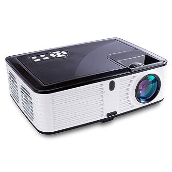Proyector de vídeo 1080P Full HD 4500 lúmenes 30,000 Horas LCD ...
