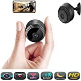 Hidden Wireless Mini Spy Camera - Éclat WiFi Indoor Motion Detection HD 1080P Small Home Security