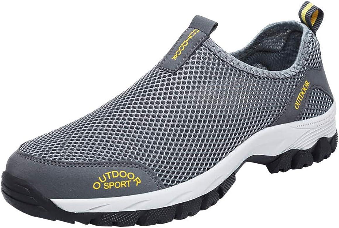 Plot – Zapatillas de Deporte para Hombre, Transpirables, para Correr, con Cordones, Ligeras, para el Tiempo Libre, Modernas, Casuales, Color Gris, Talla 48 EU: Amazon.es: Zapatos y complementos