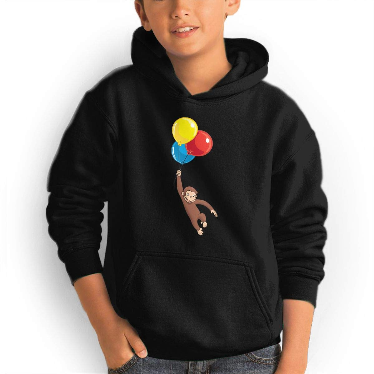 Teen S Curious George Hooded Cool Aesthetic Pullover For Girl Shirts