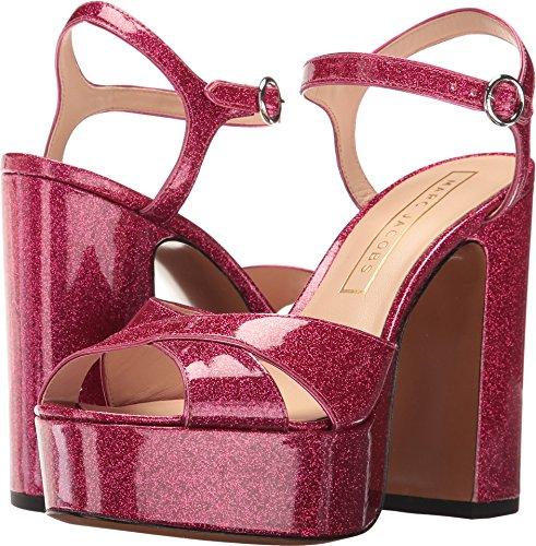 Marc Jacobs Women's Lust Platform Sandal, Pink, 38 EU/8 M US