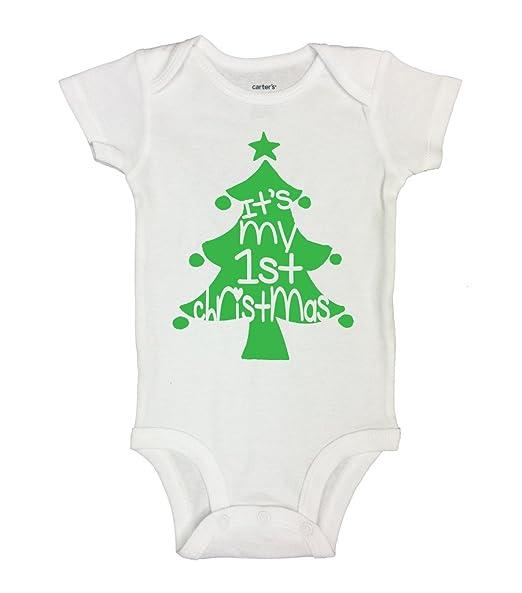 It s My First Christmas Kids X-mas Onesie Children s Shirt Funny Threadz 0-3 048e4e44d