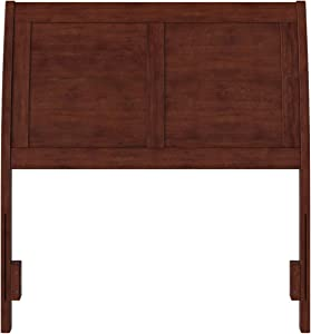 Atlantic Furniture AR289824 Portland Headboard, Twin, Walnut