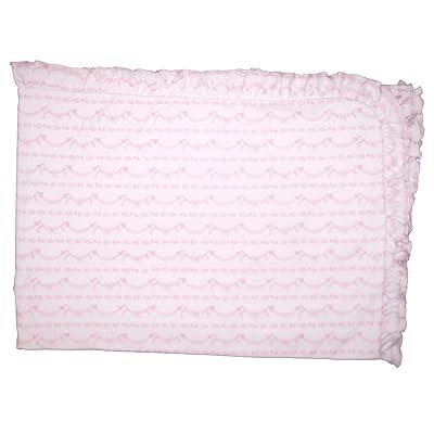 Kissy Kissy Baby-Girls Infant Rockabye Buggy Receiving Blanket