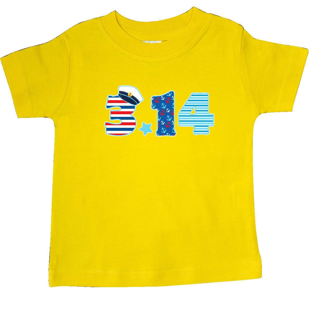 inktastic Nautical Pi Day Sailing Numbers Baby T-Shirt