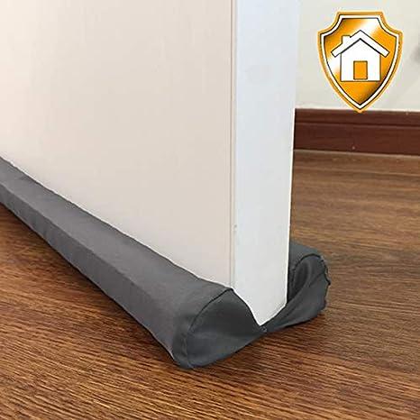 Burlete bajo puerta doble puerta de 80-96.5cm de la placa de sellado inferior insonorizado, protección de ahorro de energía, para Aislamiento y ...