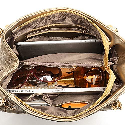 portable porte en beige femme en pour Sacs or Achetez obtenez sac un en bandoulière Wangkk diagonale trois pour à à main téléphone un Cw6qTwH