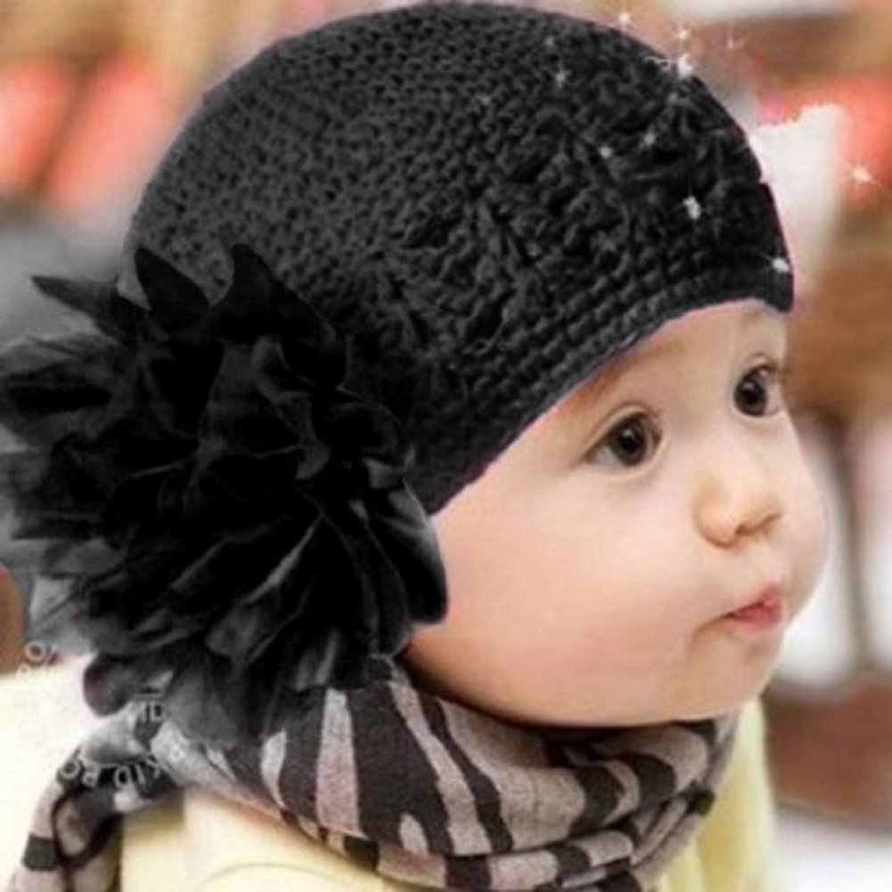 Amazoncom Flower Toddlers Hat Misaky Infant Lace Hair Band