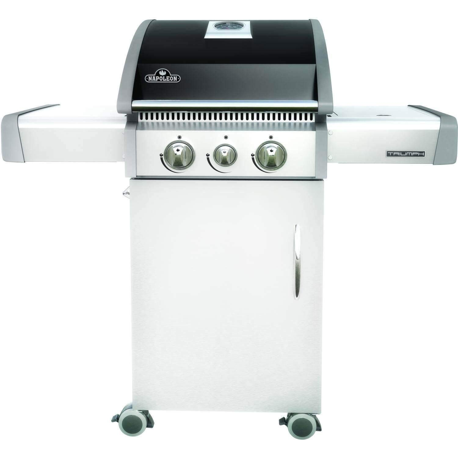 Napoleon T325SBNK Triumph Natural Gas  with 2 Burners, Black and Stainless Steel by Napoleon