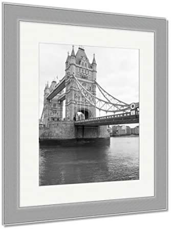 Ashley framed prints uk london tower bridge wall art home decoration black white