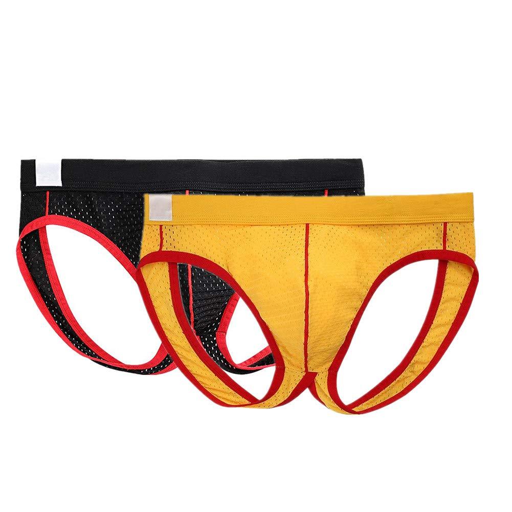 MASS21 Men's Jockstrap Supporter Low Rise Bulge Pouch Mesh Thong