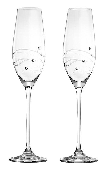 Amazon Com Barski Handmade Glass Set Of 2 Wedding Toasting