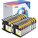 Odoga Ink Cartridge LC101 LC103 replacement for Brother MFC-J450DW J470DW J475DW J870DW J4510DW J6920DW J4710DW J6520DW J285DW J875DW J4410DW J650DW J4310DW [8 Black, 4 Cyan, 4 Magenta, 4 Yellow]